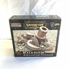 Warmachine Khador Avalanche Cannon New in Box