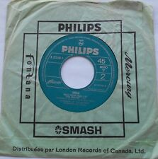 SHEILA Hello petite fille (BEATLES) / La chorale Ex CANADA ONLY 1964 FRENCH 45