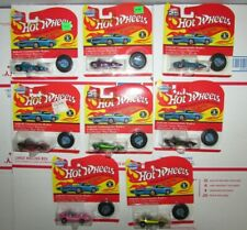 Hot Wheels Silhouette 25th Anniversary Redline Vintage 5715 Lot of 8 Different