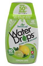 SweetLeaf Stevia Lemon Lime Water Drops 48ml