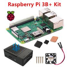 2018 NEW Raspberry Pi 3 Model B+(B Plus) Starter Kit With Case & Cooling Fan Kit