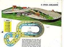 Faller AMS Matériel ferroviaire pour un 4 voies Circuit complet