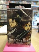 Attack On Titan Deck 2 Official Manga & Anime Playing Cards 51546