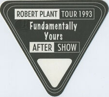 Robert Plant 1993 Backstage Pass Aso black Led Zeppelin