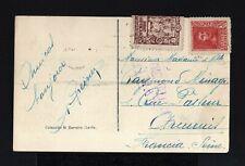 8843-ESPAÑA-SPAIN.MILITARY CENSOR POSTCARD SEVILLA to FRANCE 1939.WWII.TARJETA