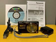 Panasonic Digital Camera Lumix F2.5 10X Optical Zoom Black Model DMC-FH8P-K
