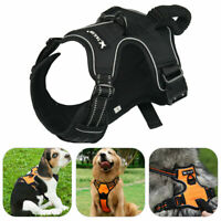 No-pull Dog Harness Reflective Outdoor Adventure Pet Vest Padded Handle 3 Size