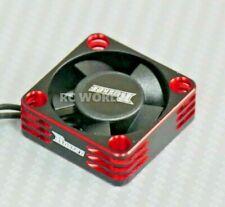 1/10 COOLING FAN Heat Sink Max Speed Aluminum Lightweight High Air Flow RED 1pc