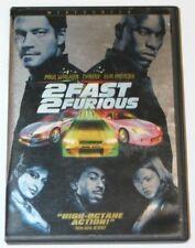 2 Fast 2 Furious DVD.  Paul Walker, Tyrese, Eva Mendes, Ludacris.  Bilingual.