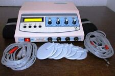Portable Electrotherapy 4 Channel Model Dynopluse LCD Display Therapy Machine