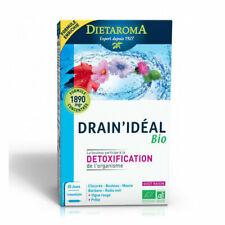 Dietaroma - Drain'idéal bio - Détoxification - Bouleau, Radis noir - 20 ampoules