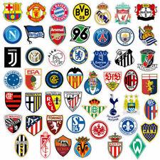 Football Clubs Soccer Team Decal Vinyl Sticker Lot for Skateboard/Luggage/Laptop