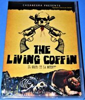 NEW RARE OOP PANIK HOUSE THE LIVING COFFIN MEXICAN HORROR CULT MOVIE DVD 1958