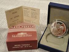 10 euro BE France 2010 argent - MERE TERESA RARE  !!!!