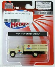 HO Scale 1960 Ford Stake Bed Truck - 84 Lumber - Mini Metals #30429