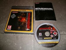 JEU PS3 PAL Ver. Française: METAL GEAR SOLID 4: GUNS OF THE PATRIOTS Complet TBE