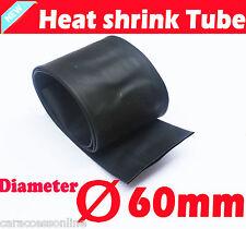 Heat Shrink tube Heatshrink tubing Sleeving Black Dia=60mm 1meter  AU STOCK