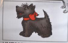 Scottish Terrier Dog    RETIRED     Art impressions rubber stamps