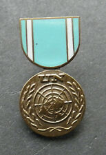 UNITED NATIONS UN MINI MEDAL LAPEL HAT PIN BADGE 1.1 INCHES