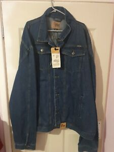 Mens Demin Jacket Duke Jeans Size 6XL