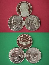 2004 P D S Proof & BU Nickels Louisiana Purch From Mint Sets Flat Rate Shipping