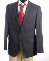 HUGO BOSS Sakko Jacket The James3 Gr.50 grau meliert Einreiher 2-Knopf -S818