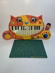 B Toys Meowsic Toy Piano Children'S Keyboard Cat Piano TESTED Excellent Conditio