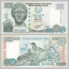 Zypern / Cyprus 10 Pounds 2005 p62e unc