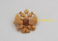 Russian two headed eagle Military Army Hat Pin Badge Imperial Eagle Crest