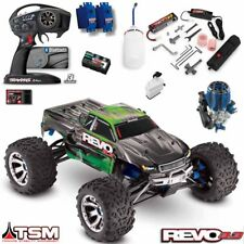 Traxxas 53097-3 1/10 Nitro Revo 3.3 4wd Truck Green TSM RTR w/ TQi /NiMh Battery