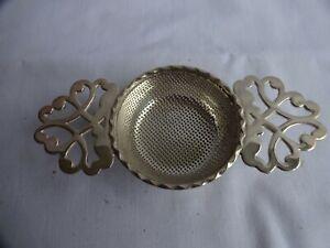 Vintage Tea Strainer Silver Plated EPNS for Loose Tea