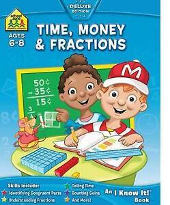 Time, Money And Fractions by Hinkler Books (Paperback, 2010)