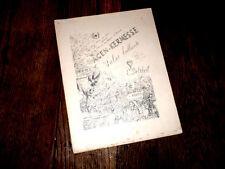 Agen kermesse valse brillante pour piano 1894 C. Deltheil