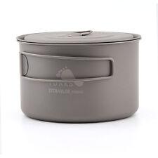 TOAKS POT-700-D115-L Ultralight Titanium Camping Pot Outdoor Cup /w Lid 700ml