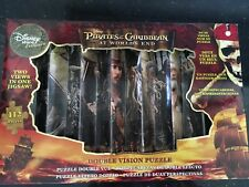 New Disney Store Exclusive  PIRATES Of the CARIBBEAN  DOUBLE VISION puzzle 112pc