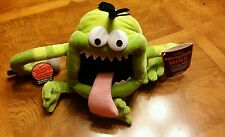 Hallmark MICROPHONE MIKE Monster soft plush Toy Voice Recorder/Talking NWT