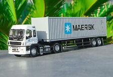 1/50 ISUZU Container Truck Trailer MAERSK Diecast Car Model Collection