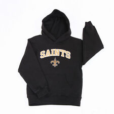 NFL TEAM SAINTS Kids Boys Girls Baby Pullover Hoodies Sweatshirts T-Shirts M 5/6