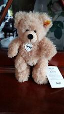 Steiff 111372 Teddybär Fynn- 18cm, Beige