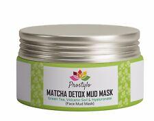 Green Tea Matcha Detox Mud Mask for Nourishing,Hydrating&Healing-Anti Aging