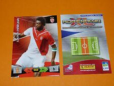 L. HARUNA AS MONACO LOUIS II  FOOTBALL FOOT ADRENALYN CARD PANINI 2010-2011
