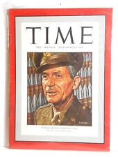Jun 15, 1942 TIME Magazine- Gen Brehon Somervell on Cover-News/Photos/Ad