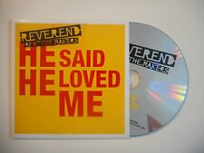 REVEREND AND THE MAKERS : HE SAID HE LOVED ME [CD SINGLE PORT GRATUIT]