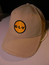 CAP VINTAGE yet NEW GLY CONSTRUCTION BASEBALL CAP BEIGE G-L-Y THE GAME