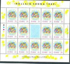 Ireland - 1989 special Christmas sheet mnh
