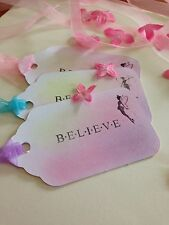Believe In Fairies Wedding Etc Wish Tree/Gift Tags Set Of 10