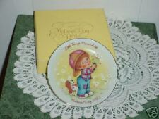 "Avon 1982 Mother'S Day Plate ""Little Things Mean Alot"""