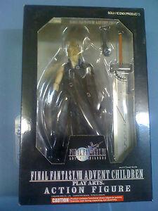 Play Arts Final Fantasy: Advent Children Cloud Strife Figure NEW FREE SHIP US