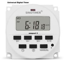 Poolrite Mirrakel 21805 style TIME CLOCK Digital universal standard size