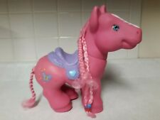 big pink pony toy braided hair great condition fun toy and Collectable